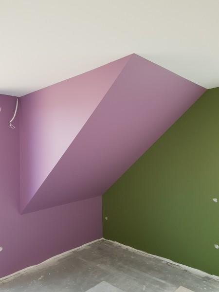 Ściany pomalowane