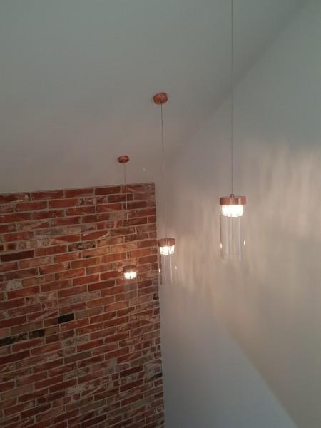 Powieszone lampki